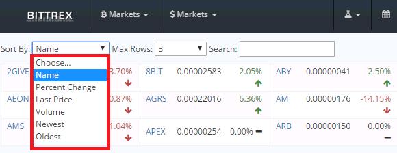 Bittrexの使い方 仮想通貨(暗号通貨)取引所の操作方法_2