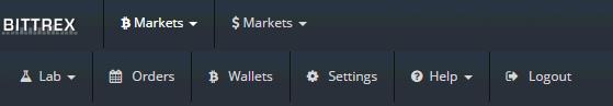 Bittrexの使い方 仮想通貨(暗号通貨)取引所の操作方法